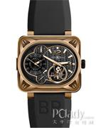 柏莱士AVIATIONBR minuteur tourbillon pink gold